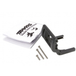 Wheelie bar mount (1)/ hardware (black)