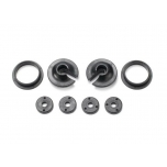 Spring retainers, upper & lower (2)/ piston head set