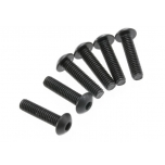 Screws, 4x16mm button-head (hex drive) (6)