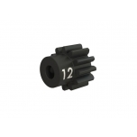 Pinion 12T 32p, heavy duty, machined, hardened steel