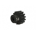 Pinion 32dp, 14T, hardened steel