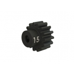 Pinion 32dp, 15T hardened steel