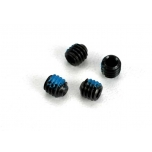Screws, set (grub) 4mm (6) (with threadlock)