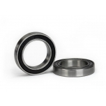 Ball bearing, Black rubber seal (15x24x5mm) (2)