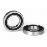 Ball bearing, black rubber sealed (15x26x5mm) (2)