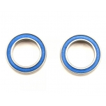 Ball bearing, rubber seal Blue (12x18x4mm) (2)