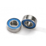Traxxas Ball bearings, blue rubber sealed (6x13x5mm) (2)