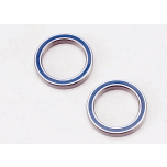 Traxxas Ball bearings, blue rubber sealed (20x27x4mm) (2)