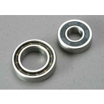 Ball bearings, 7x17x5mm (1)/ 12x21x5mm (1) (TRX® 3.3, 2.5R, 2.5 engine bearings)