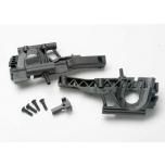 Bulkhead, front (L&R halves)/ diff retainer