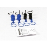 Pivot ball caps (4)/ dust boots, rubber (4)/ dust plugs, rubber (4)