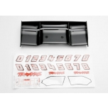 Wing, Revo (black) & decal sheet