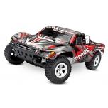Traxxas Slash 2WD 1/10 SCT, harjadega mootor (ilma aku ja laadijata), punane/hall