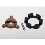 Cush drive key/ pin/ elastomer damper
