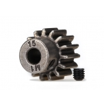 Traxxas Pinion Gear 15T (1.0 metric pitch) (fits 5mm shaft)
