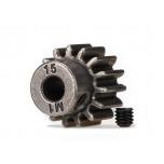 Gear, 15-T Pinion gear (1.0 Modul) 5mm shaft