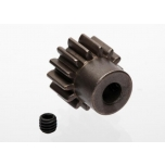 Traxxas Gear, 14-T pinion (MOD 1.0) (5mm shaft) (compatible with steel spur gears)