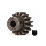 Traxxas Gear, 16-T pinion (MOD 1.0) (5mm shaft) (compatible with steel spur gears)