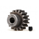 Traxxas Gear, 17-T pinion (MOD 1.0) (5mm shaft) (compatible with steel spur gears)