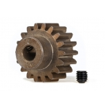 Traxxas Gear, 18-T pinion (MOD 1.0) (5mm shaft) (compatible with steel spur gears)