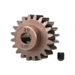 Gear, 20-T pinion (1.0 metric pitch) (fits 5mm shaft)