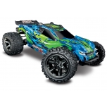 TRAXXAS Rustler VXL 4x4 Brushless (w/o battery and charger), Green