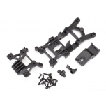 Body mounts, front & rear Rustler 4X4