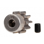 Gear, 10-T pinion (32-p) (steel)/ set screw