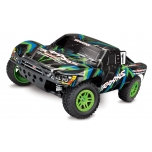Traxxas Slash 4X4 Brushed (with battery and 12V DC charger), Green