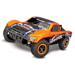Traxxas Slash 4x4 VXL + TSM (without Battery/Charger), Orange