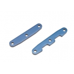 Bulkhead tie bars, front & rear, aluminum (blue-anodized)