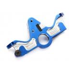 Motor mount, 6061-T6 aluminum (blue-anodized)