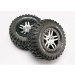 Traxxas Slash Mud-Terrain tire 4x4 F/R, 2wd R (2)