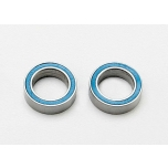 Ball bearing 8x12x3,5mm blue rubber seal (2)