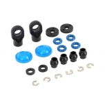 Rebuild kit, GTR composite shocks (x-rings, bladders, pistons, e-clips, shock rod ends, hollow balls) (renews 2 shocks)