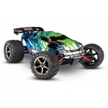 TRAXXAS E-Revo 4WD RTR (Brushed) 1/16 + battery & 12V-charger, Green/Blue