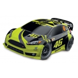 Traxxas Ford Fiesta ST Rally VR46 Edition (w/ battery & 12V DC Charger)