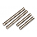 Suspension pin set, shock mount (front or rear, hardened steel)