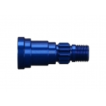 Stub axle, aluminum (blue-anodized) (1) (use only with #7750