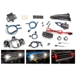 LED light set, complete with power supply (contains headlights, tail lights, side marker lights, & distribution block) (fits #9111 or 9112 body)