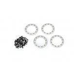 Beadlock Rings Satin (1.9') Alu (4) + Screw