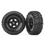 "Tires and wheels, assembled, glued (TRX-4® Sport 1.9"" wheels, Canyon Trail 4.6x1.9"" tires) (2)"