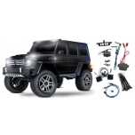 Traxxas TRX-4 Mercedes-Benz G500 4X4 RTR, Black + LED kit