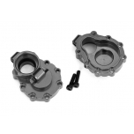 Portal housings, inner (rear), 6061-T6 aluminum (charcoal gray-anodized) (2)