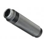 Body, GTS shock (aluminum, silver-anodized) (1) TRX-4