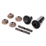 Gear set, differential (output gears (2), spider gears (4), spider gear shaft (2)) TRX-4