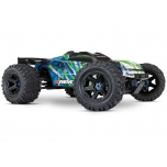 TRAXXAS E-Revo 2.0 Brushless RTR 4x4 2.4GHz (w/o battery & charger), Green