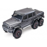 TRAXXAS Mercedes-Benz G63 AMG 6x6 RTR w/o battery/charger, Silver