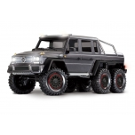 TRAXXAS TRX-6 Mercedes-Benz G63 AMG 6x6 RTR w/o battery&charger, silver