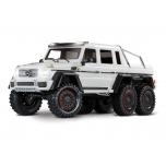 TRAXXAS TRX-6 Mercedes-Benz G63 AMG 6x6 RTR ilma aku ja laadijata, valge